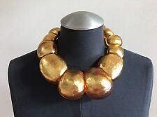 VIKTORIA HAYMAN Gold Foil Necklace