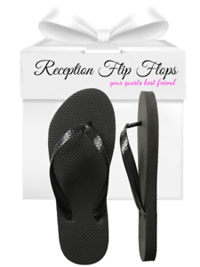 93c73e212 Image is loading Womens-Wholesale-Bulk-Flip-Flops-Black-Lot-of-