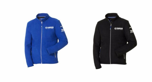 Official Yamaha Racing Paddock Blue & Black Men's 'Matsue' Fleece Jacket