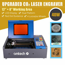 Omtech 12x 8 40w Co2 Laser Cutter Engraver Engraving Machine Red Dot Guidance