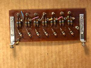 """GéNéReuse Vintage Carte De Circuit Avec Bornes Pour Montage 5"""" X 2"""" Aluminium Mounts (2 Ava-afficher Le Titre D'origine Effet éVident"""