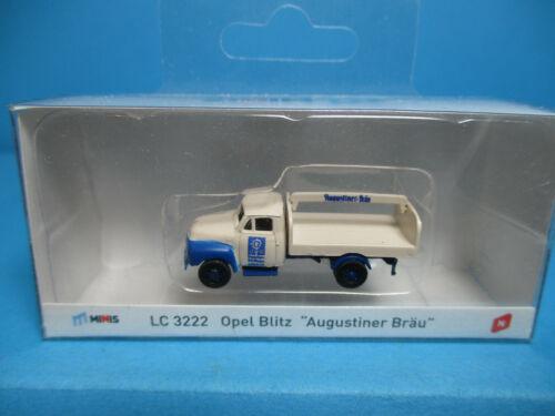 "Neu,OVP,M 1:160 Lemke LC3222 Opel Blitz /""Augustiner Bräu/"""