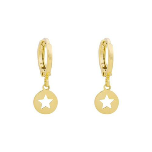 CATCH A STAR Gold MINI HOOPS