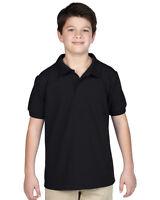 Gildan GD41B Kids Childrens Boys/Girls DryBlend™ Youth Piqué Polo T-Shirt XS-XL