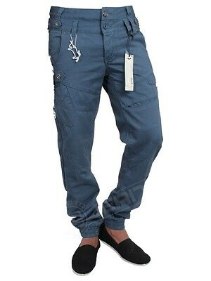 NEW MENS ETO JEANS CUFFED CHINOS EM294 EM295 EM250 BURGUNDY BLUE  SALE PRICE