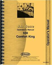 Case 930 931 Ck Tractor Owners Operators Manual