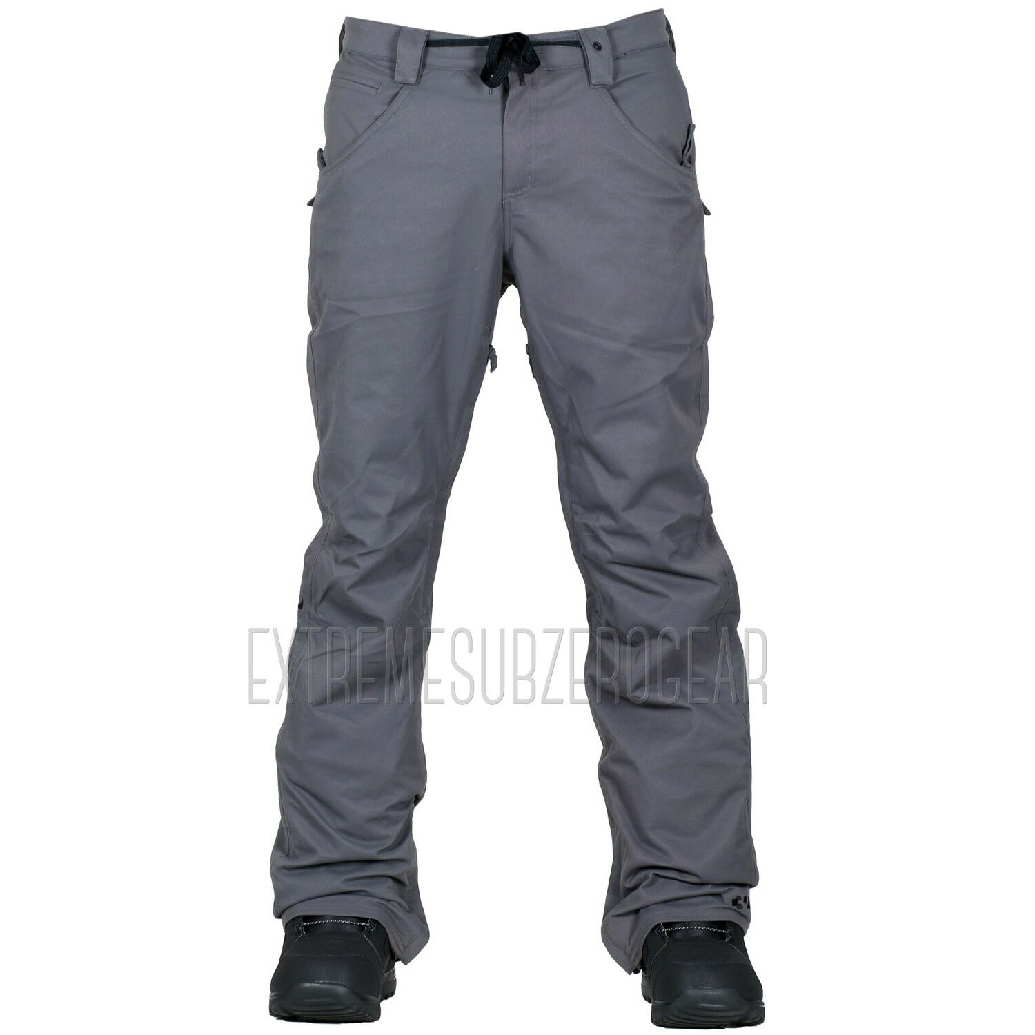 THIRTYTWO thirty-two Mens 2018 Snowboard Snow - WOODERSON PANTS - Carbon