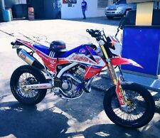 Honda CRF 250L 12-14   SEMI CUSTOM GRAPHICS KIT GEICO