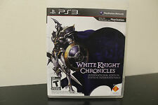 White Knight Chronicles: International Ed  (Sony Playstation 3, 2010) *Tested