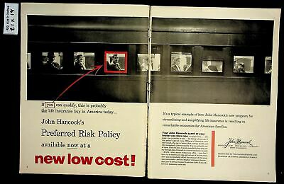 1955 John Hancock Life Insurance Preferred Risk Policy ...
