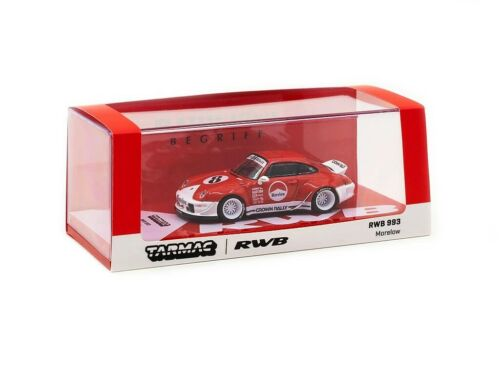 1:64 Tarmac Works Porsche RWB 993 Morelow with Oil Can MiniCar Fest Hong Kong SE