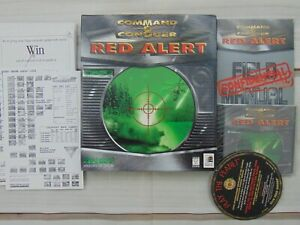 Command-amp-Conquer-Red-Alert-1996-PC-CD-Big-Box-Sealed-Game
