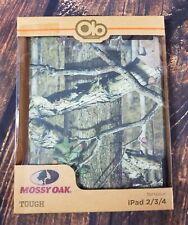 """Blue Camo Zig Zag Chevron Key Fob// Wristlet// Key Chain 1/"""" Mossy Oak"""