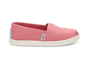Toms Shoes Youth Classics Pink Canvas