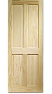 4 Panel Clear Pine Internal Door - Wellingborough, United Kingdom - 4 Panel Clear Pine Internal Door - Wellingborough, United Kingdom