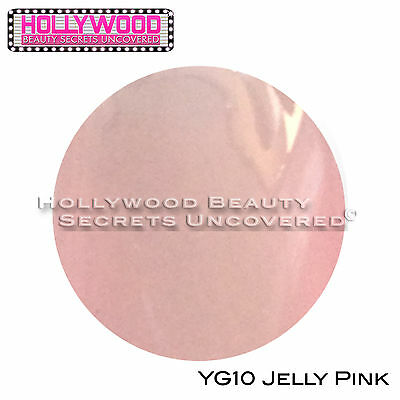 Bluesky Gel Polish JELLY PINK (Glow In The Dark) YG10 -needs nail lamp to cure
