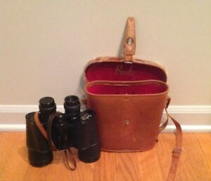 Vintage-Binolux-7x50-Binoculars-with-Leather-Carrying-Case-Japan
