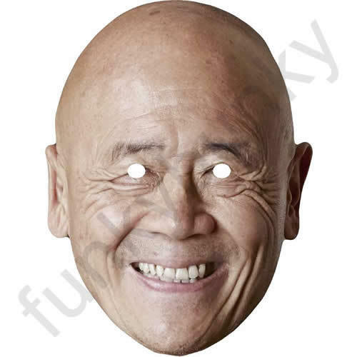 All Our Masks Are Pre-Cut! Ken Hom Celebrity Chef Card Mask WOK