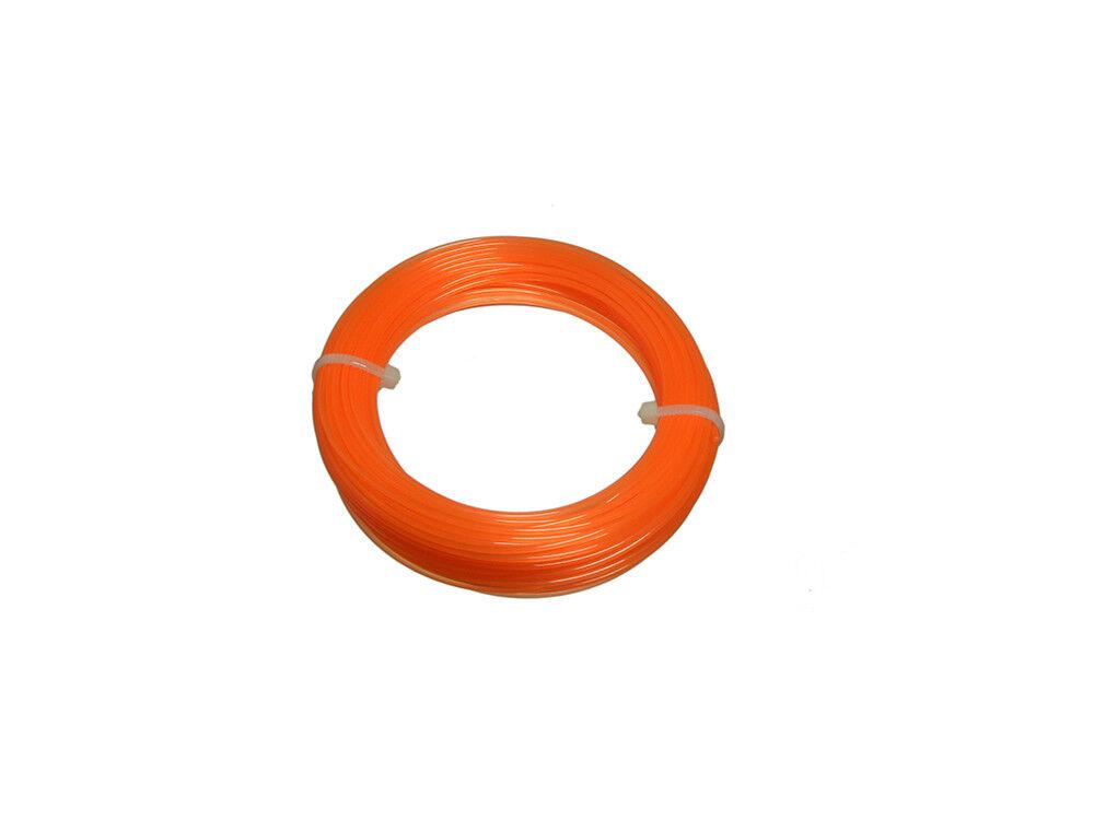 Nylon Motorsense Linecord 1.25mm By 15 Meter für Elektrische Strimers Pk von 48