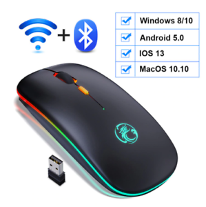 Wireless-Bluetooth-Mouse-RGB-LED-Backlit-Rechargeable-Ergonomic-Gaming-Mouse