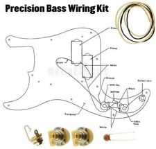 Precision Bass Wiring Kit P CTS 250k Cloth Wire .047 Switchcraft Jack Diagram