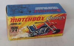 Repro-Box-Matchbox-Superfast-Nr-71-Jumbo-Jet-Choppers
