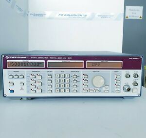 Rohde & Schwarz SMH Signal Generator 2GHz TESTED GOOD BUT ON/OFF BUTTON STAY ON