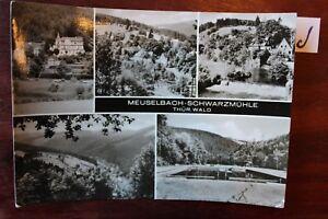DéSintéRessé Carte Postale Vue Carte Thuringe Meuselbach-noir Moulin-warzmühle Fr-fr Afficher Le Titre D'origine ChronoméTrage Ponctuel