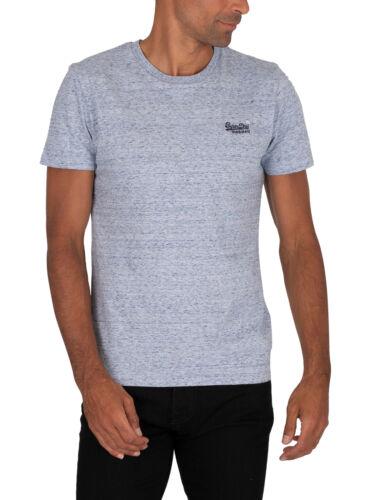 Blue Superdry Men/'s Vintage EMB T-Shirt