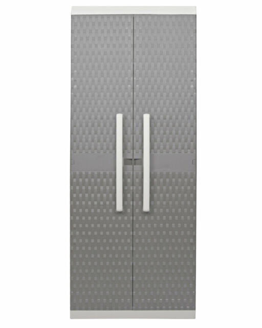 Kunststoff Rattanoptik Keter 17190255 Universalschrank Rattan Style Mini Shed