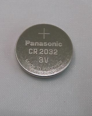 5x CR2032 Knopfzelle 3V Batterie Panasonic im Plastetray