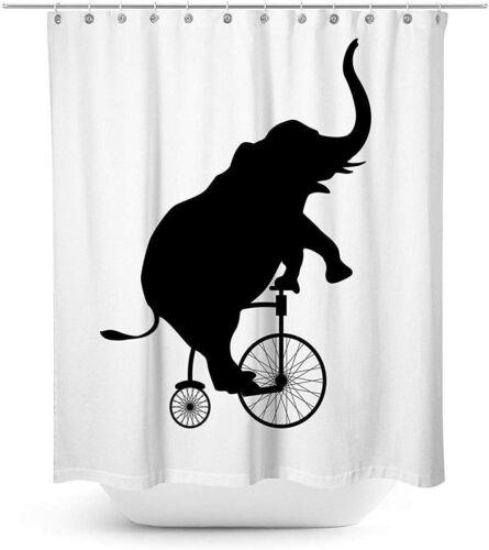 Shower Curtain Waterproof Polyester Shower Curtain Mildew Resistant Antibacteri