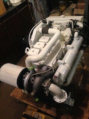 Rebuilt Cummins 5 9 Marine 6bta 250 Hp Diesel Engine Can Help With Shipping Ebay