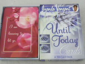 Until Today by Iyanla Vanzant (2002, Cards,Flash Cards)