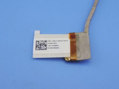 Original LCD LVDS  VIDEO SCREEN DISPLAY EDP P7NCN CABLE FLEX 1422-0260000 30PIN