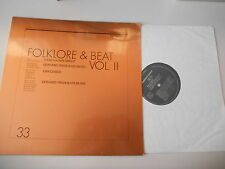 LP VA Folklore & Beat Vol.II (16 Song) SELECTED SOUND Haider Trede Can Candid