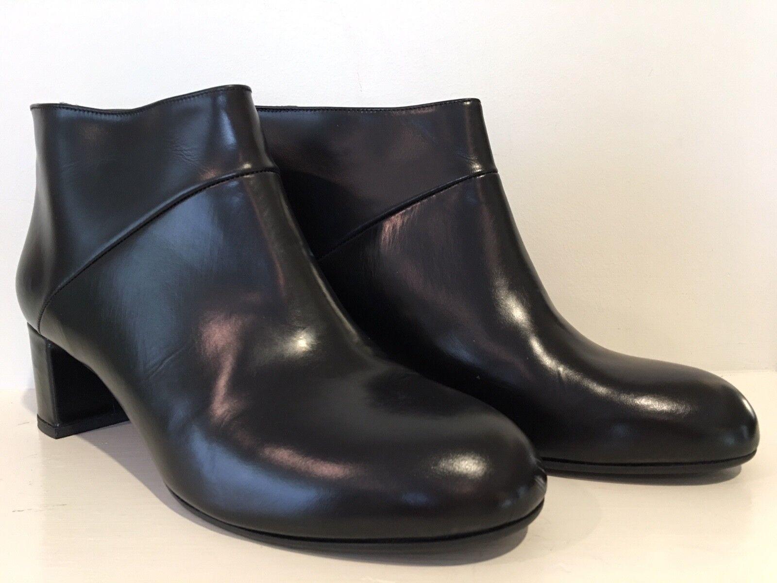 Nuevas botas al Tobillo Marni Marni Marni Cuero Negro, tamaño 41 11  deportes calientes