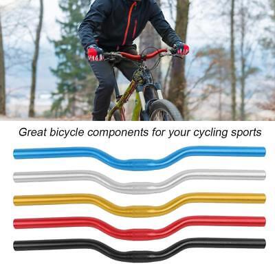 60cm 25.4mm Straight Riser Bar Mountain Bike Bicycle Aluminum Alloy Handlebar