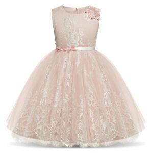 Details About Vestidos Ropa De Moda Para Niñas Vestido De Fiesta Elegante Casual Largo Nuevo
