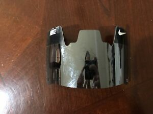 Nike Football Helmet Visor Eye Shield Dark Silver Chrome Mirror Vr 2