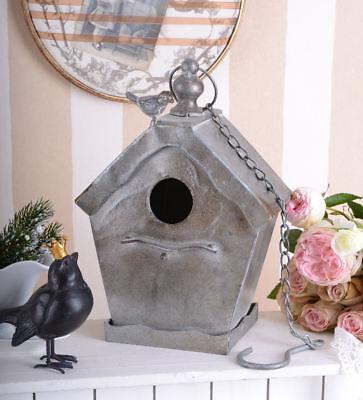 Backyard Poultry Supplies Clever Nichoir De Métal Vintage Cage Volière Maison D'oiseau Lieu De Nidification Neuf By Scientific Process