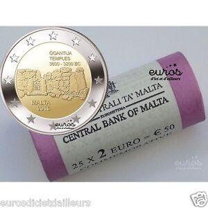 Rouleau-25-x-2-euros-commemoratives-Malte-2016-Ggantija-034-350-000-exemplaires