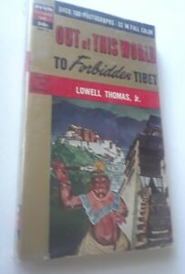 OCCULT-OUT-OF-THIS-WORLD-TO-FORBIDDEN-TIBET-RARE-OLD-1ST-THOMAS