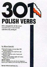 Very Good 0764110209 Paperback 301 Polish Verbs: Fully Conjugated in All the Ten