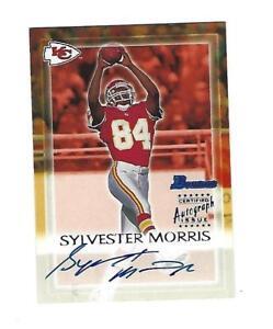 Sylvester-Morris-2000-Bowman-Autograph-Card-SM-Kansas-City-Chiefs