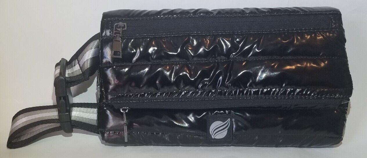 Think Royln Metallic Black Pearl Bum Bag Crossbody Handbag Fanny Pack *NEW*