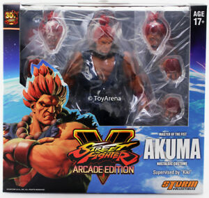 Storm Collectibles 1/12 Street Fighter V Figure d'action d'Akuma Nostaligia Scale 4897072870602