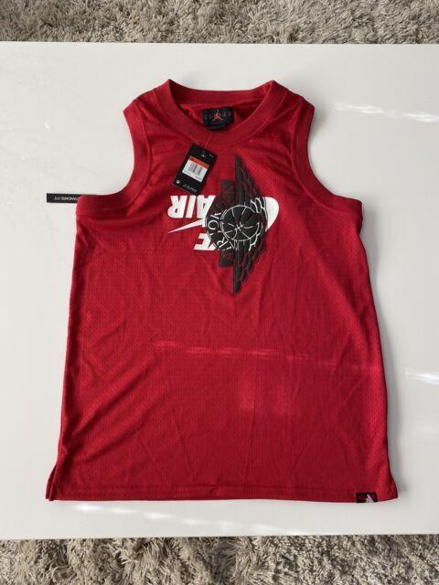 Nike Air Jordan Jumpman Classic Wings Tank top Size L Jersey BQ8479-687 Mens C13
