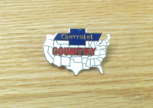CHEVROLET COUNTRY HAT PIN    CHEVY
