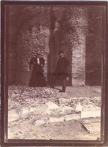 Roma-Italia-Fotografia-di-viaggio-amatoriale-in-1898-Vintage-citrato